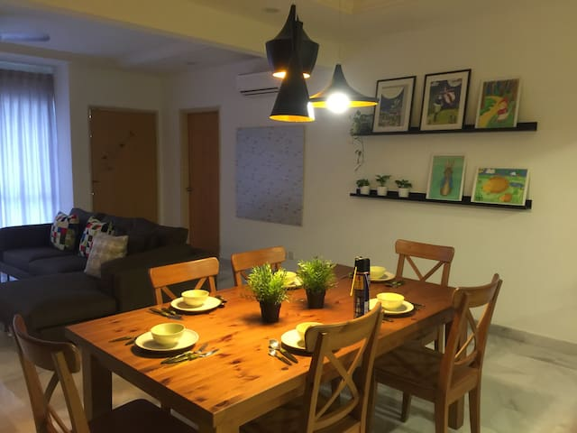 Our cozy dining area