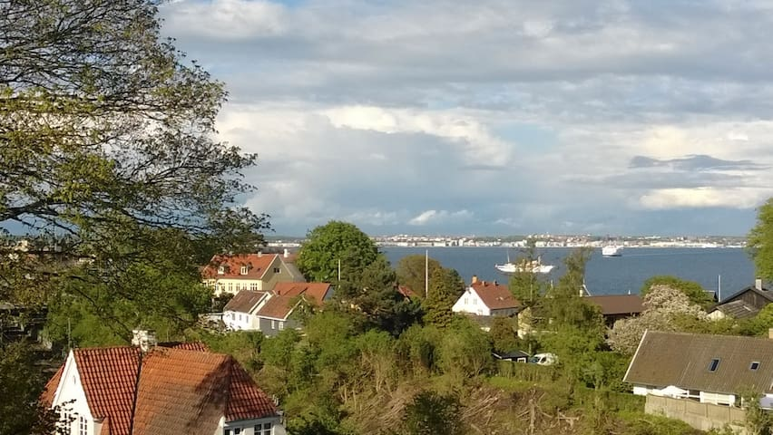 Rooms with a view - clean & pretty - Helsingør - Bed & Breakfast