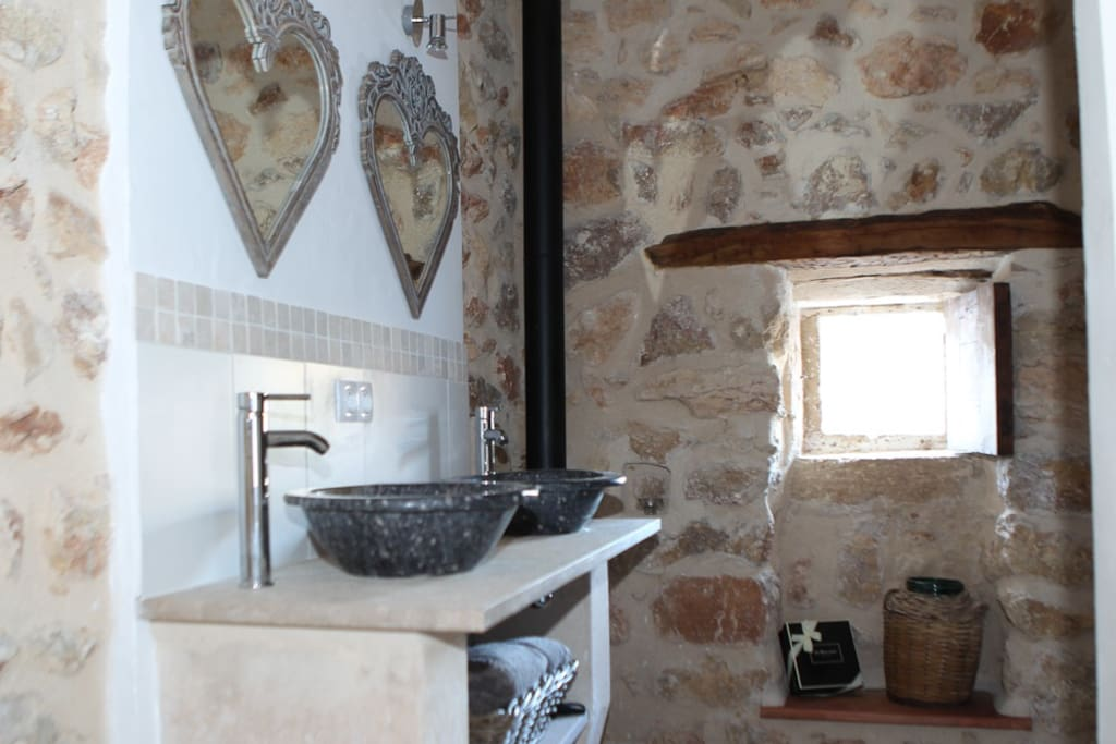 Ancient & modern - fittings sources in UK and Mallorca to create a unique feel