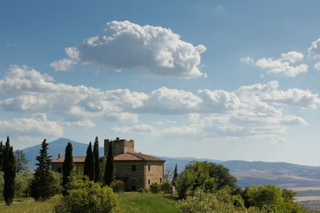 Iperbole countryhouse, in Val d'Orcia, Tuscany - Monticchiello - วิลล่า