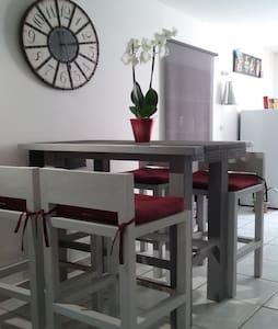 Gîte appart'  'La Lédenonette' - Lédenon - Apartamento