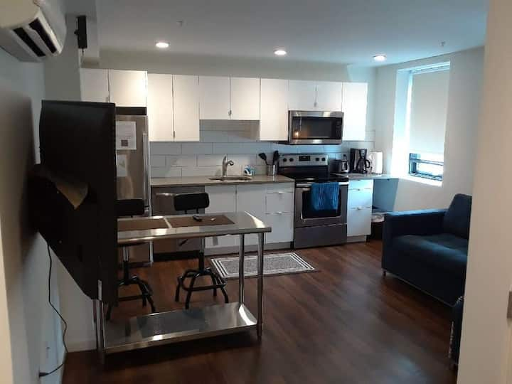 Sunset 506 GreenLine | 1BR 1BA | Walk to Boston Children's and the GreenLine Trolley!