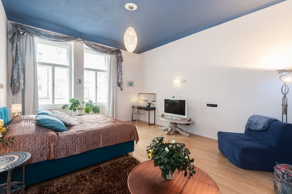 Our Blue Apartment - new and cozy!