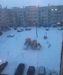 2 ком. кв рядом с горнолыжным подъемником - Kirovsk - Pis