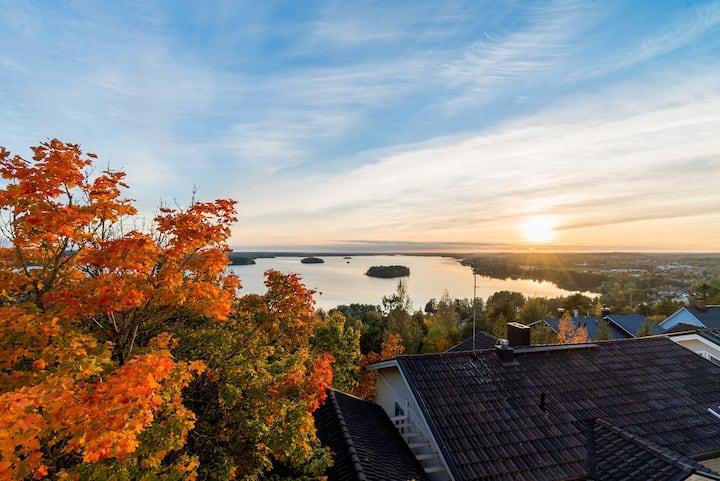 Studio apartment in lake views
