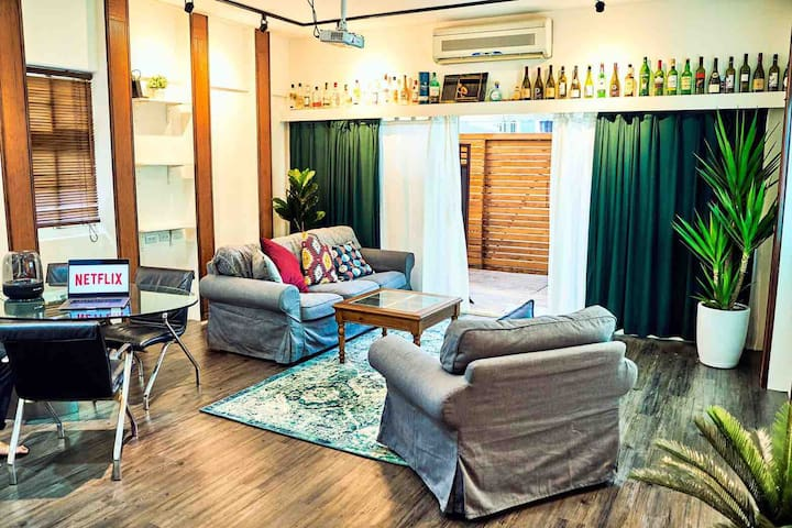 <Chill in ChiFong> cozy 2 double bed loft ,Taipei