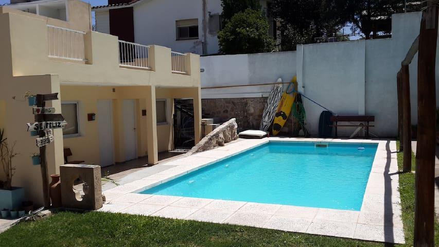 Departamento 2 domitorio con pileta y asador - Villa Carlos Paz - Apartament