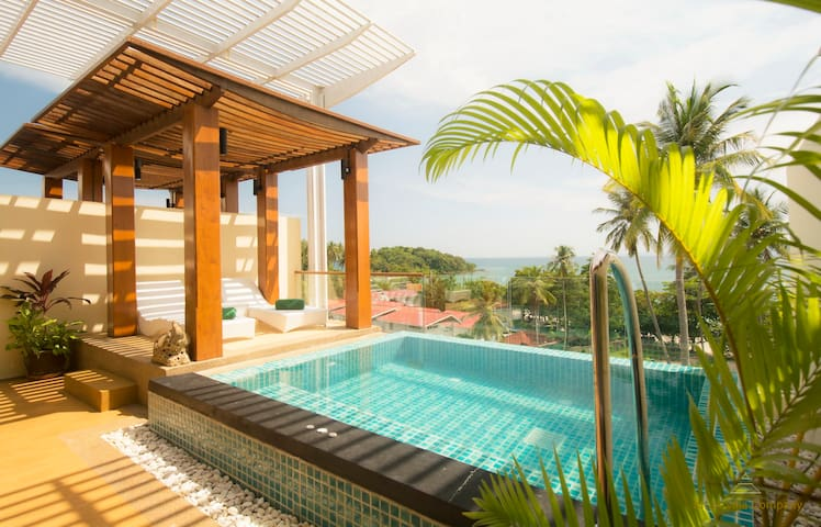 Sea View Penthouse Apartment - Krabi - Appartement