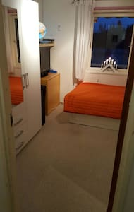 Snugly room, near the airport Gardermoen OSL - Mogreina - Σπίτι
