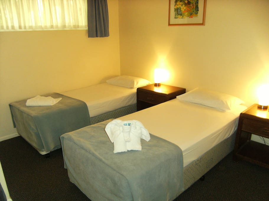 2 Single Bed Option (if available)