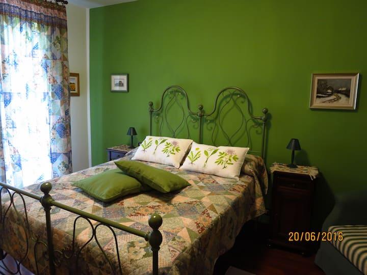 Casa Valle del Picchio - Camera Verde