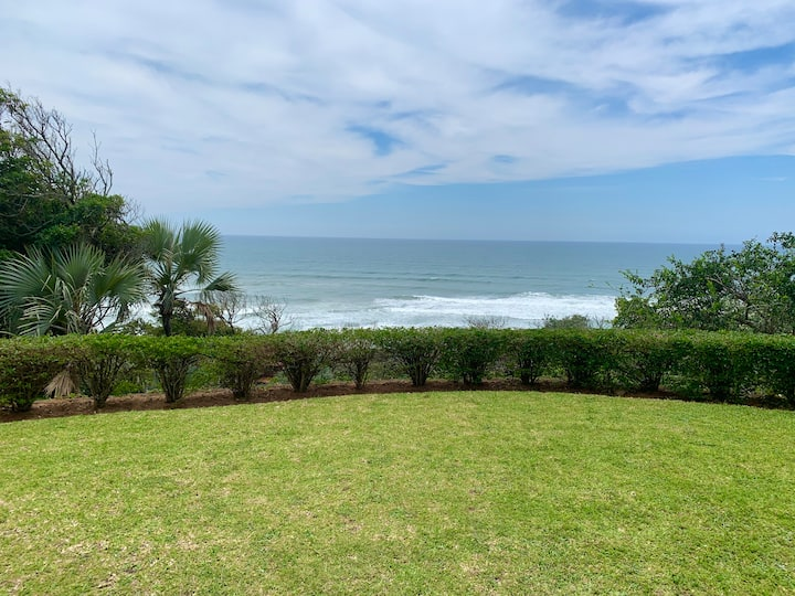 Lovely beachfront home