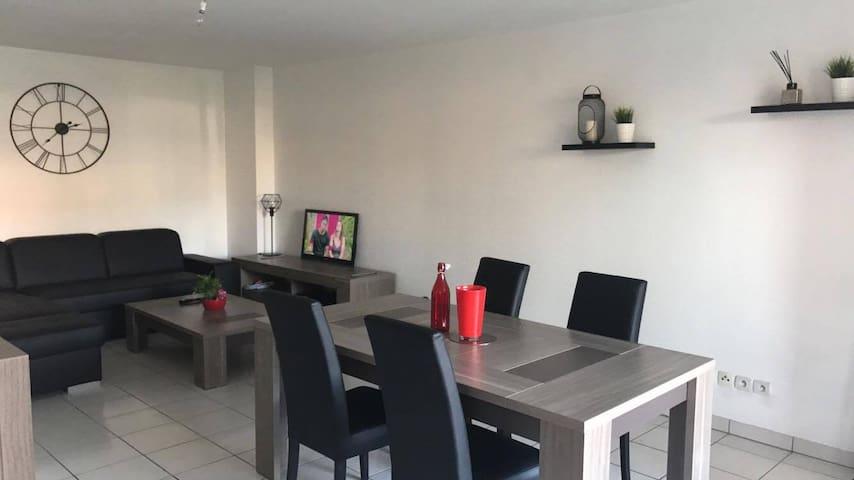 Appartement T2 très calme avec jardin privatif