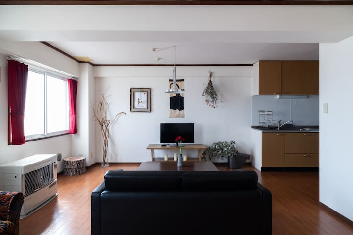 70㎡Cosy house/Easy access to airport&Sapporo Sta