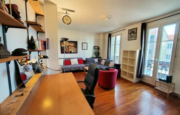 ❤Le Saint Ouennais / Bel appartement F2 cosy en cœur de ville