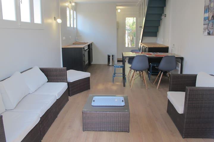 Jolie maison design & calme Grande Plage Carnac - Carnac - House