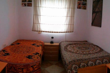 Beautiful and bright house, double room. - Huelva