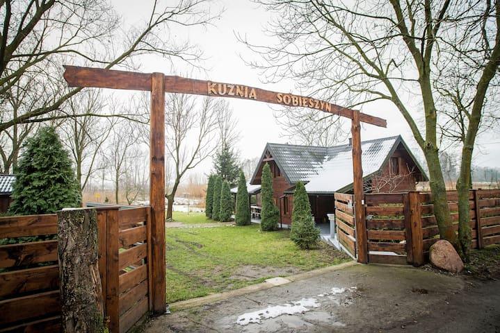 Kuźnia Sobieszyn - Wiejski dom z sauną.
