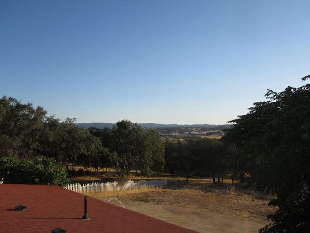 view from deck south
