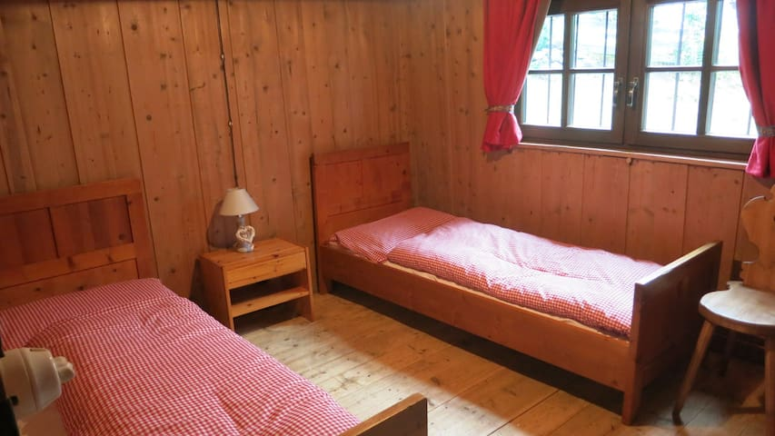 La stanza da letto doppia