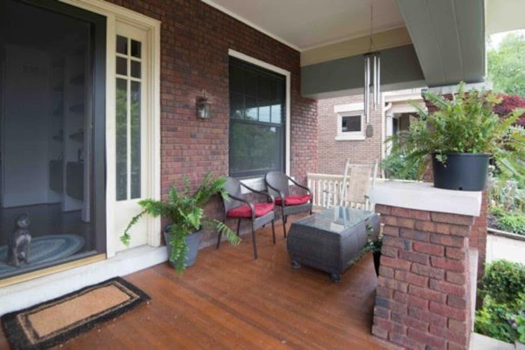 Front Porch more seating