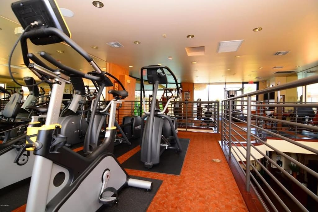 Award winning 2 story gym