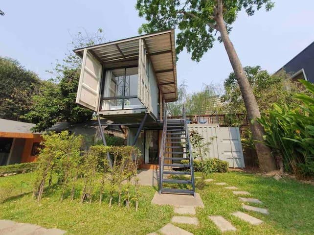 Serene Backyard Riverside Garden 2BR house /No.5–6