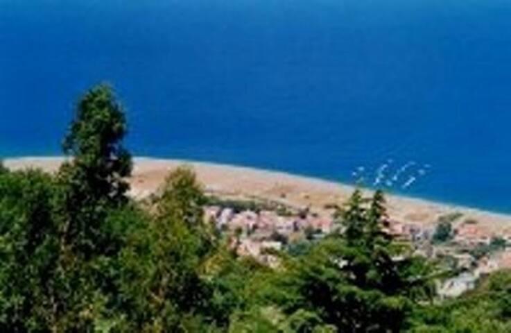 spiaggia di San Giorgio dall'alto