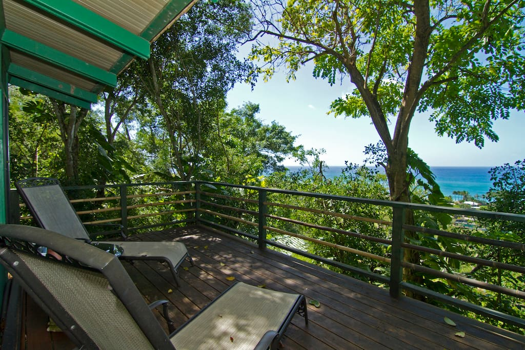 Sunset beach treehouse bungalow casas en el rbol en for Alquiler casa arbol