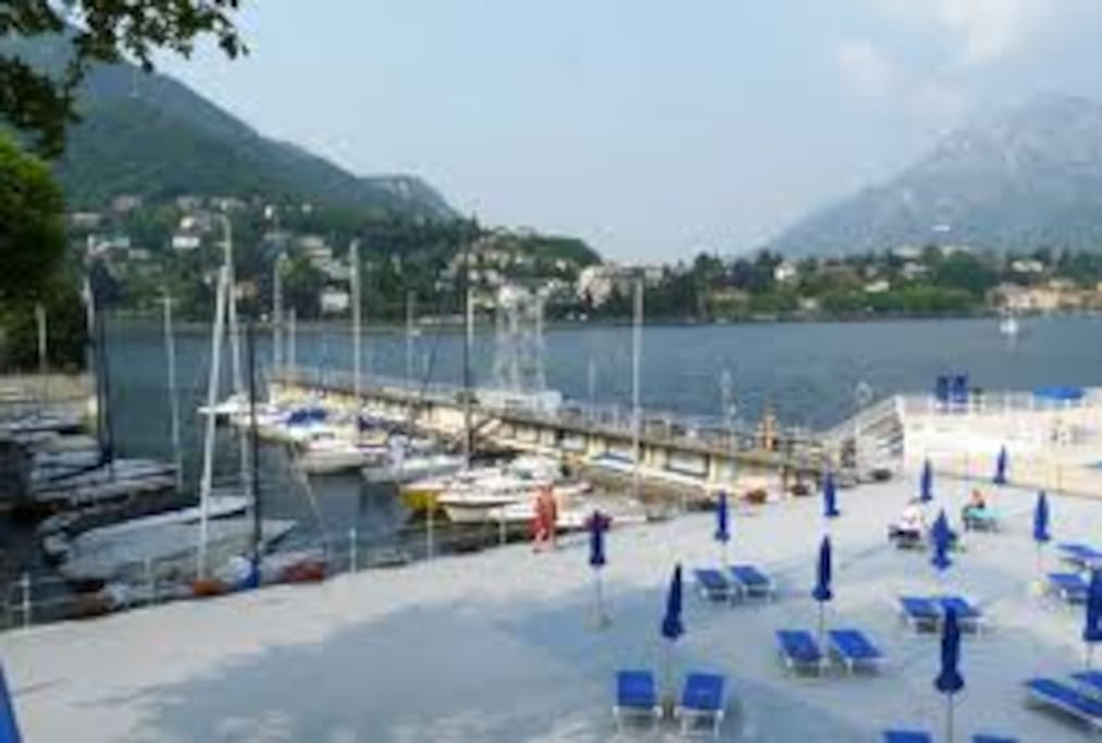 second location in Lecco private marina