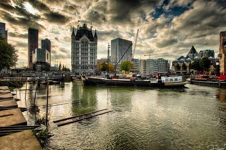 Met je voeten in de Oude Haven - Rotterdam - Apartment
