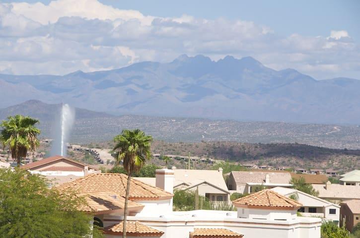 HILLTOP HOME, Incredible Views!!! - 噴泉山(Fountain Hills) - 獨棟