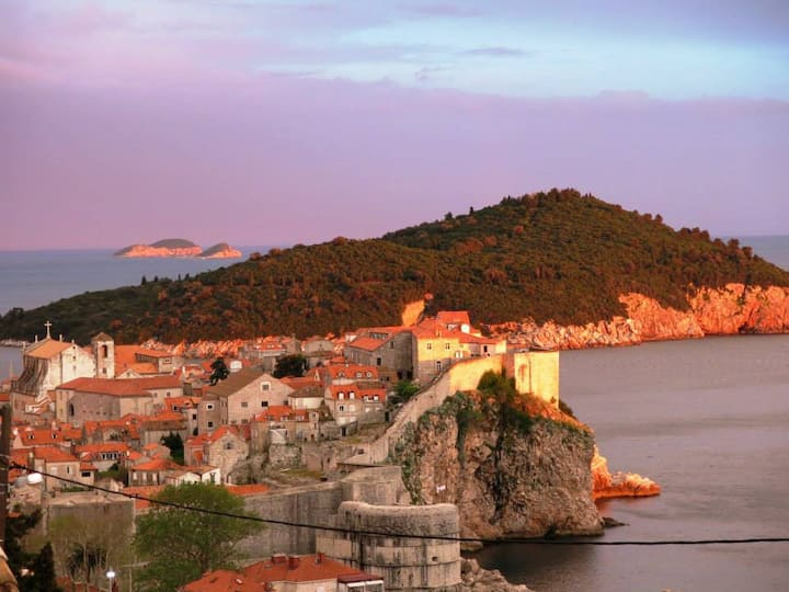 THE view of Dubrovnik