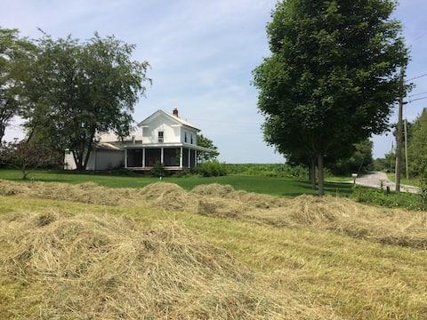 Litchfield County Farmhouse with a Modern Twist