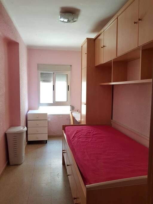 Habitaci n individual rosa departamentos en alquiler for Habitacion familiar en alquiler