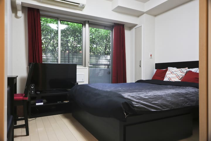 Central Studio with Full Kitchen & Unlimited WiFi! - Minato Ku