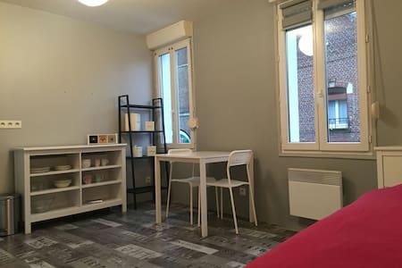 Studio lumineux à 2 pas de la gare - Amiens - Apartament