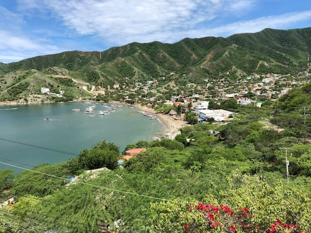 Loft con espectacular vista a la Bahía de Taganga