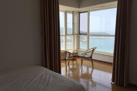 威海海水浴场高层海景房亲情138平观海阳台直面大海紧邻哈工大2505 - 威海