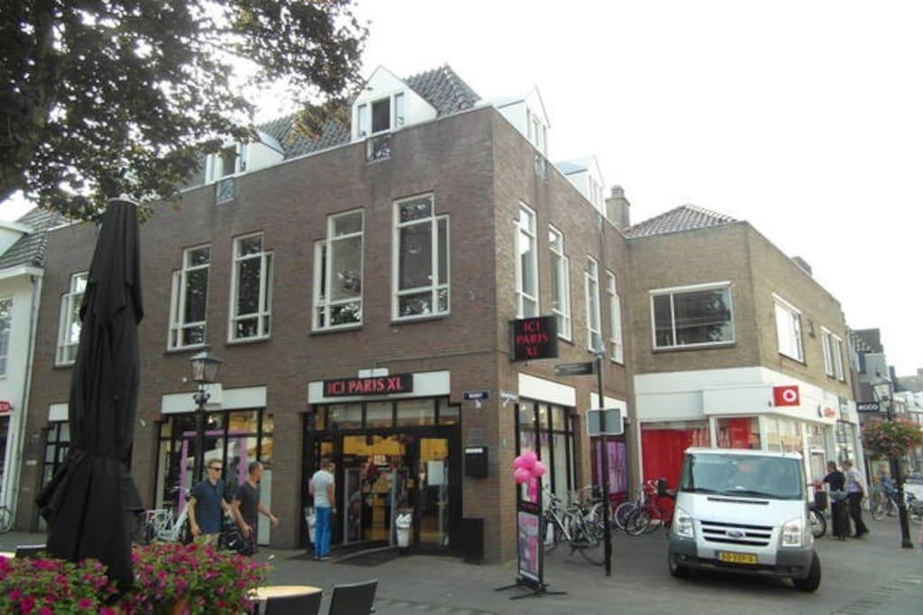 Appartement harderwijk centrum apartments te huur in for Huis te huur in gelderland
