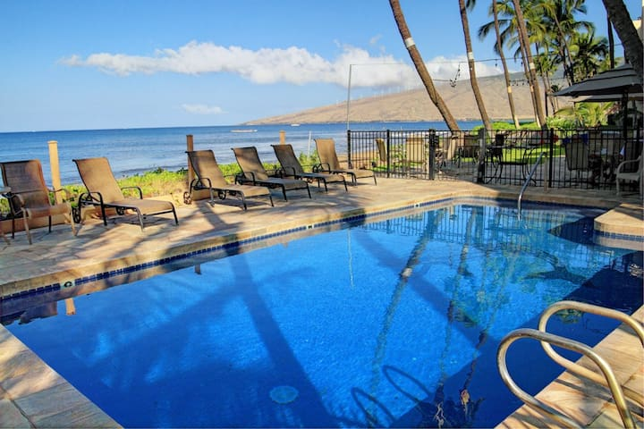 Beachfront Ground Floor Condo - Kihei