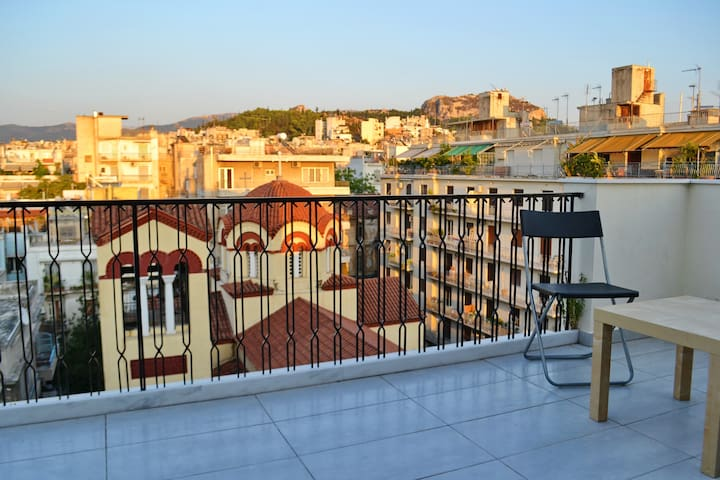 Penthouse at the center of Athens