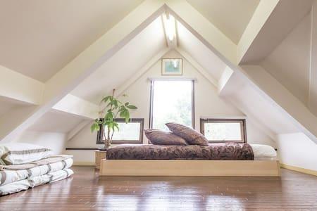 Cheap quiet loft room,7min Shibuya - Setagaya-ku
