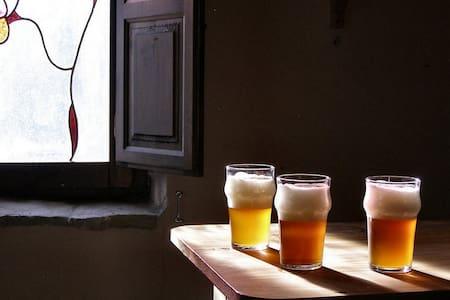 Casa Rural Cervecera Les Canyes - Pontons - Domek gościnny