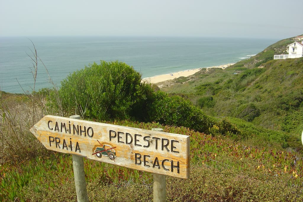 Private access to the beach from 100 meters