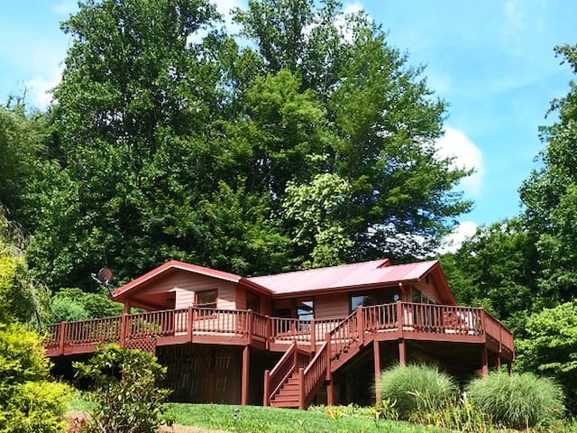 Cold Mountain River Retreat - Canton - House