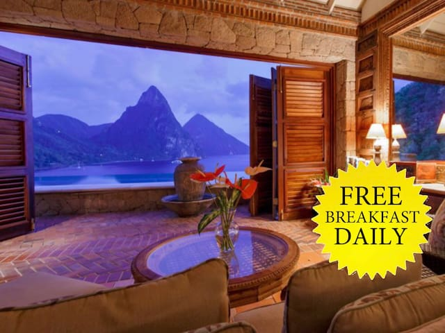 The Suite Life, Experience Luxury - Soufriere - Penzion (B&B)