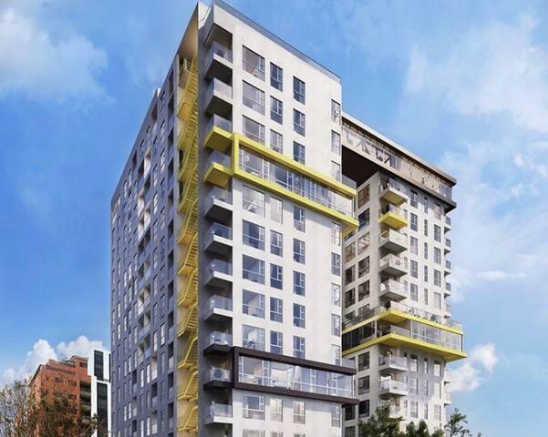 Habitación privada en Apartamento de lujo