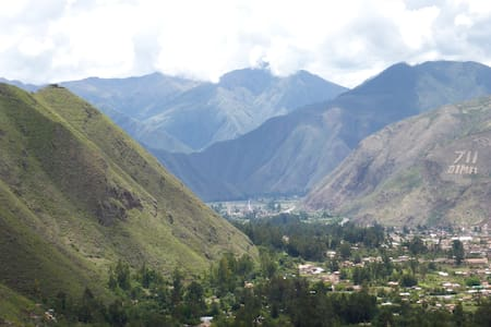 Beautiful mountain views in the town of Urubamba within the Sacred Valley of the Incas. My home is centrally located with just a short walk to the main plaza or bus terminal. I have two rooms available for guests to stay in, wifi and hot water.