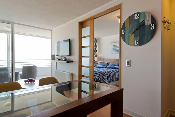 Trendy View apartment near the beach